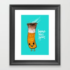 Imma Kill You Framed Art Print