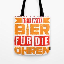 Heavy Metal Beer Festival Concert Funny Gift Tote Bag