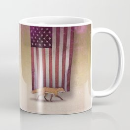 the Fox & the Flag Coffee Mug