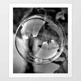 Bubble Art Print