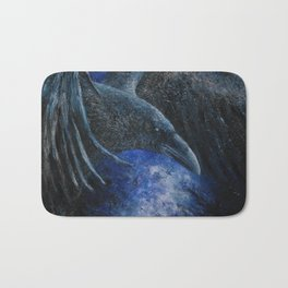 Raven (indigo) Bath Mat