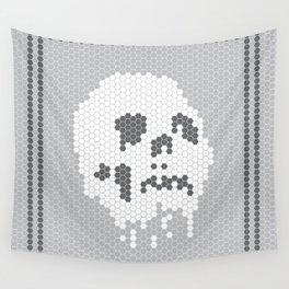 Skull Tile Wall Tapestry