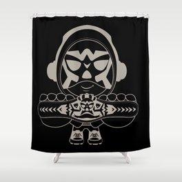 MC-Wrestler Shower Curtain