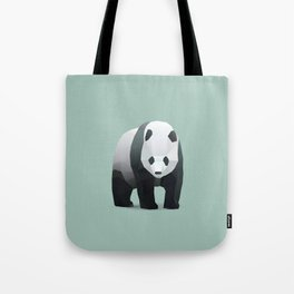 Geometric Panda - Modern Animal Art Tote Bag