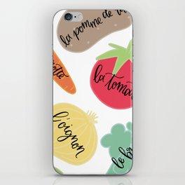 Les Legumes iPhone Skin