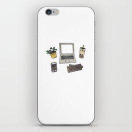 Desk Essentials iPhone Skin