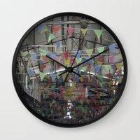 palestine Wall Clocks featuring Nablus Palestine by Sanchez Grande