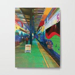 Sounder Platform Metal Print