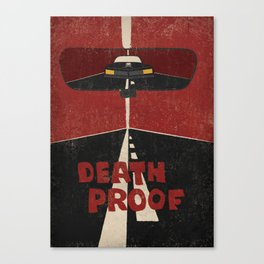 Death Proof Movie Poster / No titles / Canvas Print
