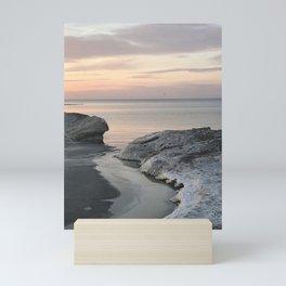 """Lake Erie Winter"" Photography by Willowcatdesigns Mini Art Print"