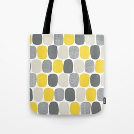 Wonky Ovals in Yellow Tote Bag