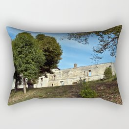 Abbey in south-west of France Rectangular Pillow