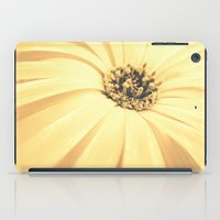 champagne iPad Cases featuring Champagne Petals by RichCaspian