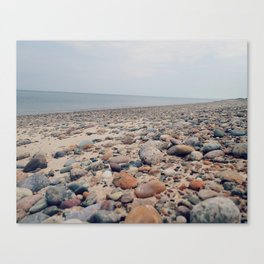 Wild Beach: Cape Cod Bay Canvas Print