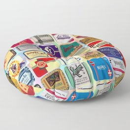Antique Condoms Floor Pillow