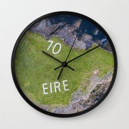 70 Eire Wall Clock