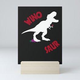 Wino Saur II Mini Art Print