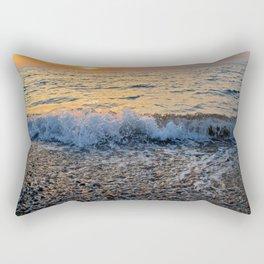 Sunset and Stones II Rectangular Pillow