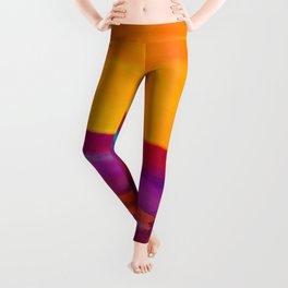 Arizona Sunset in a Pop Art abstract style Leggings