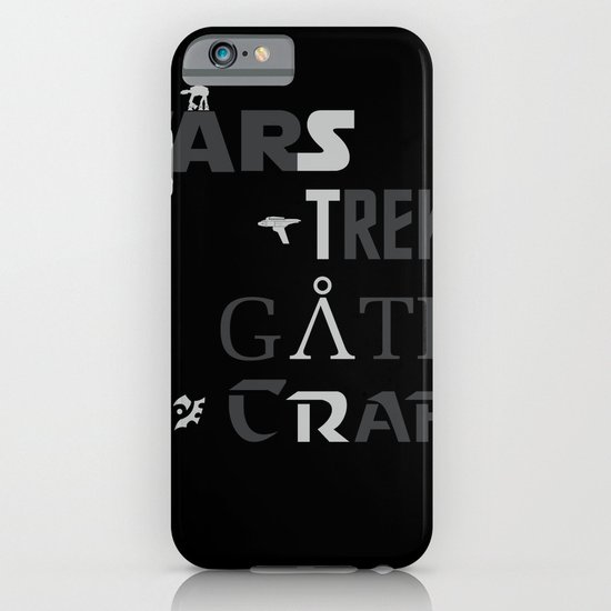 Geek All Stars iPhone & iPod Case