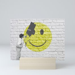 No Happiness Allowed! Mini Art Print
