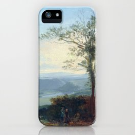 Thomas Fearnley Hilly Landscape with a River iPhone Case