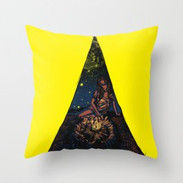 tent Throw Pillow