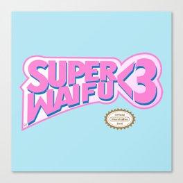 Super Waifu Canvas Print