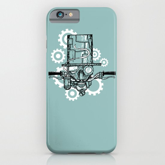 Robot Handlebar Mustache  iPhone & iPod Case