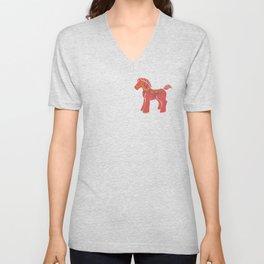 Real Dala Horse #1 Unisex V-Neck