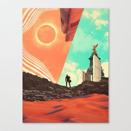 Leaving the Void Canvas Print
