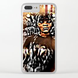 Prince Tyme 01 Clear iPhone Case