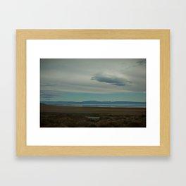 Lago Argentina Framed Art Print