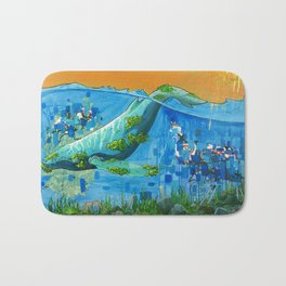 Open Sea Bath Mat