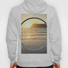 Port Erin - circle graphic Hoody