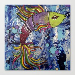 Colorful fish 2 Canvas Print