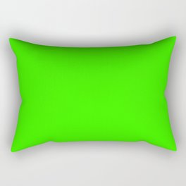 Chroma Key Green Rectangular Pillow