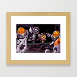 Ratchet & Clank Framed Art Print