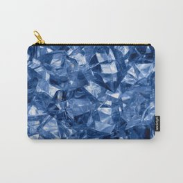 Crushed ice background Carry-All Pouch
