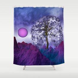 landscape in nowhereland -100- Shower Curtain