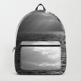 Black and White Sea Backpack