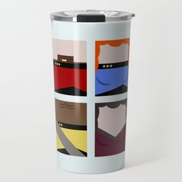 Enterprise 1701 D - Minimalist Star Trek TNG The Next Generation - startrek - Trektangles  Travel Mug