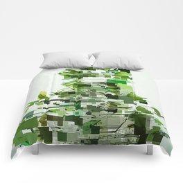 green Comforters