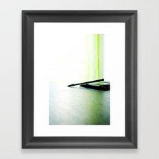 Writer_Thinker Framed Art Print
