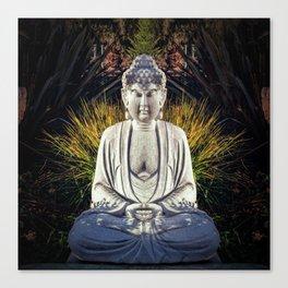 Bad Day Buddha Canvas Print