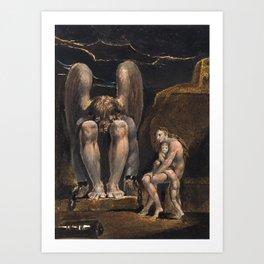 William Blake - America. A Prophecy, Plate 1, 1793 Art Print