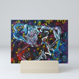 """chocolate"" Mini Art Print"