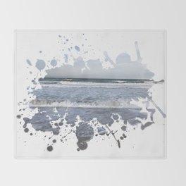 Sea Splash Throw Blanket