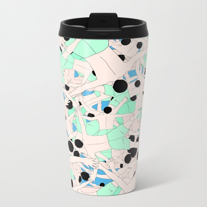 FALL ASLEEP Metal Travel Mug