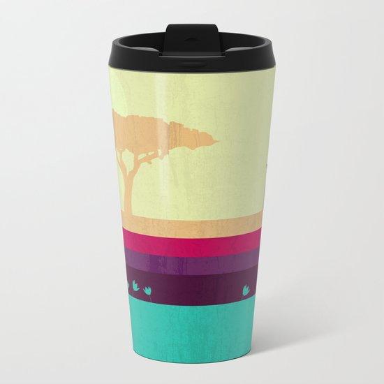 Safari Metal Travel Mug